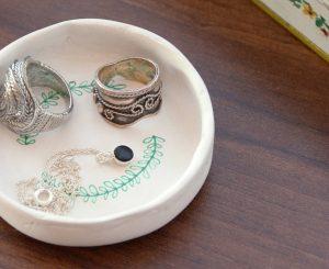 DIY – Mini joyero de masilla
