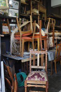 Juana dato: Carpintería en calle Holanda.