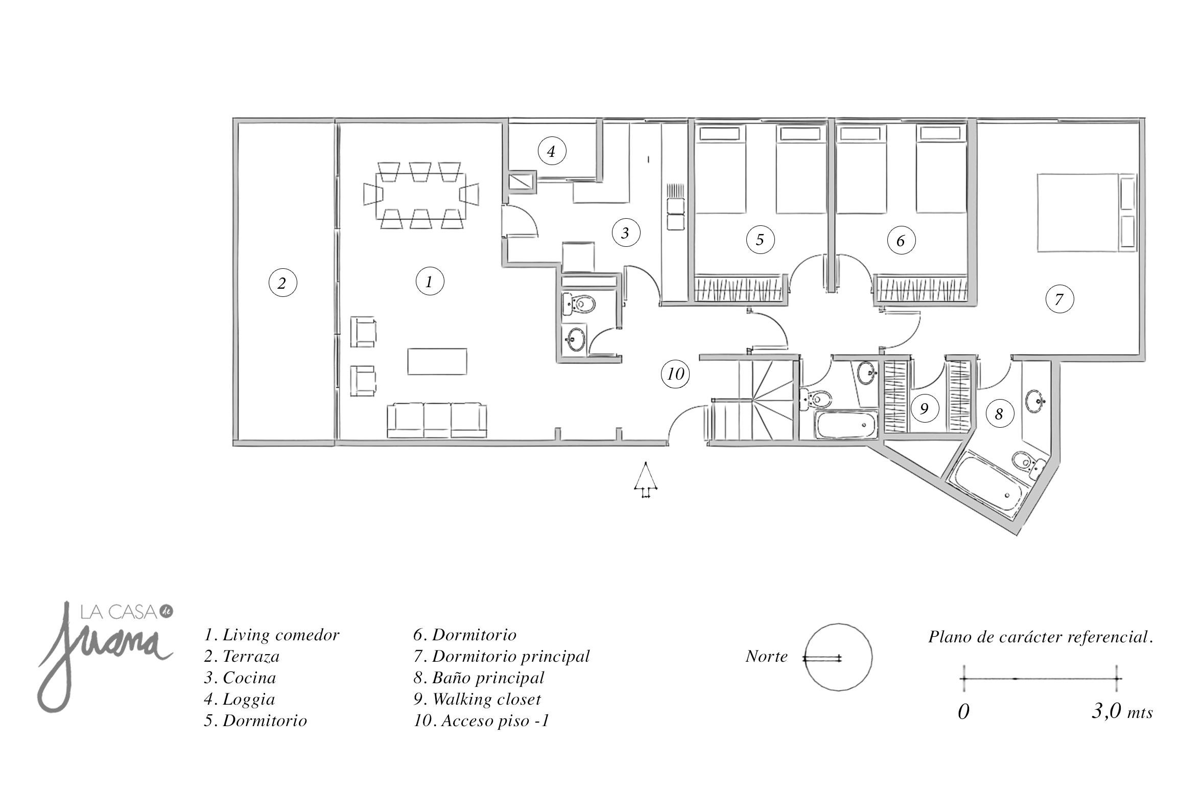 espoz duplex piso 1
