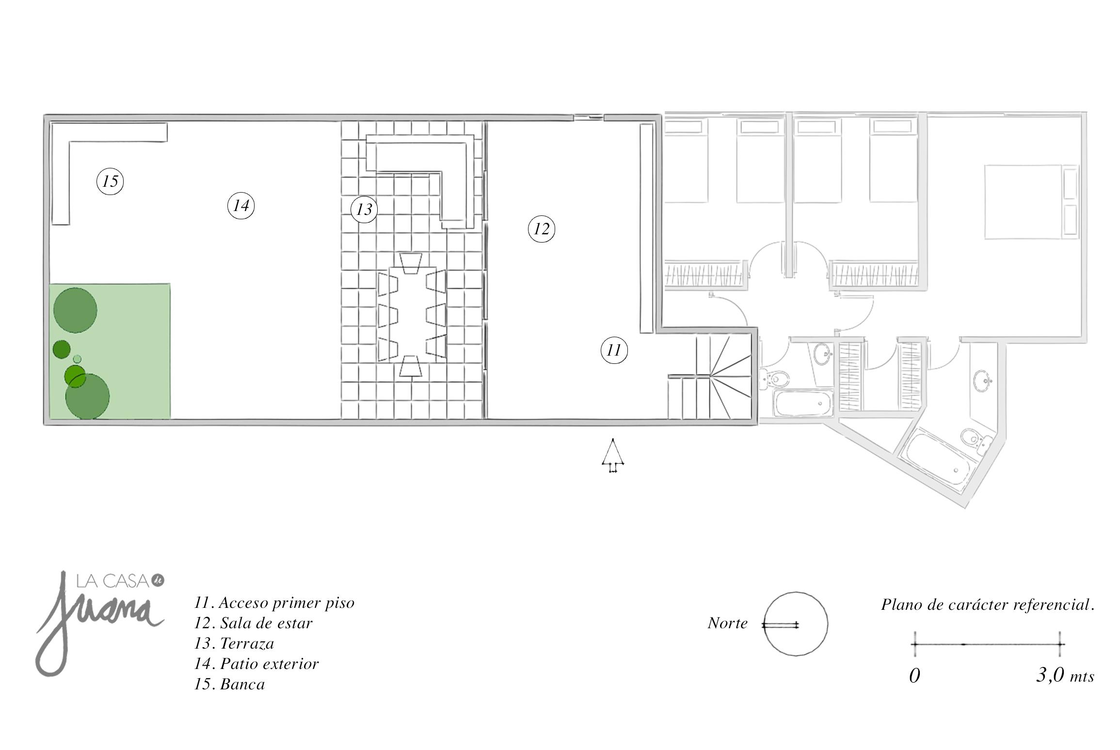 espoz duplex piso -1