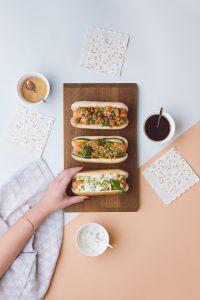 Hot Dogs con sabores por El Recetario