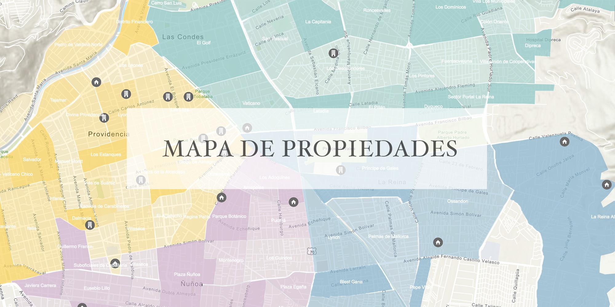 MAPA DE BARRIOS Y PROPIEDADES