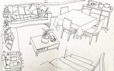 Dibujos desde el interior
