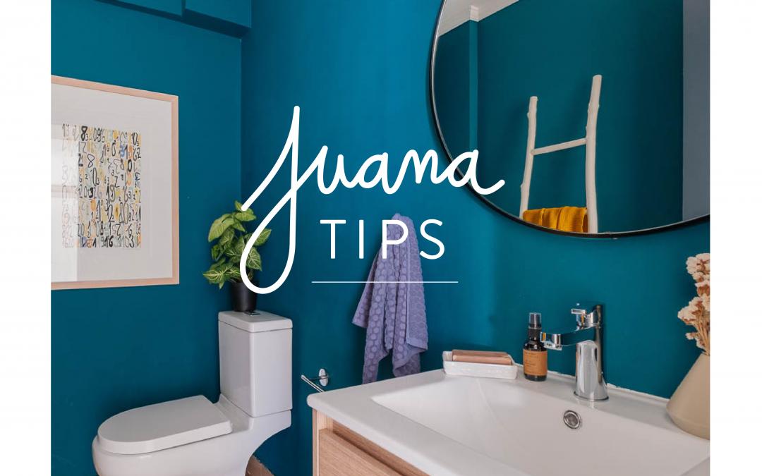 Juana Tips #4: Color o Papel Mural
